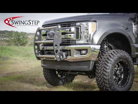 Swing Step - Bumper Guard for trucks