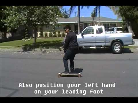 How to stop on a Longboard For Beginners