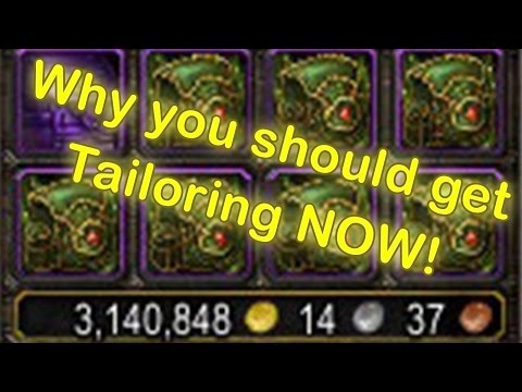 WoW Legion Tailoring Profession - Why you should get it (WoW Tailoring Guide)[Wow Legion Gold Guide]