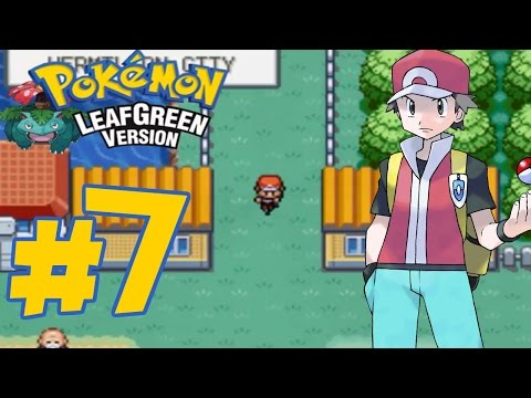 Pokemon Leaf Green - Episode #7 | Bill, Route 5, Route 6, Vermilion City and Bicycle