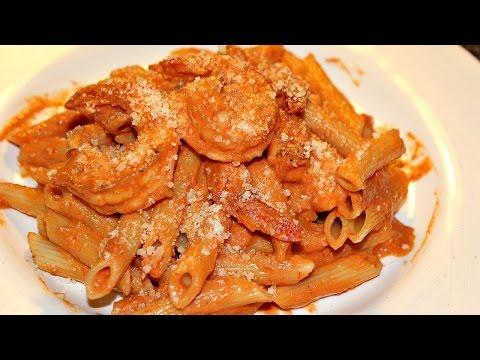 Penne Pasta Recipe (with Shrimp)