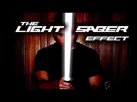 The LightSaber Effect - The 10$ Lightsaber - Halloween