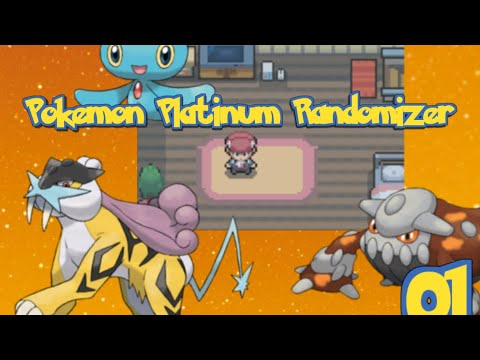 Pokemon Platinum Extreme Randomizer Episode 1