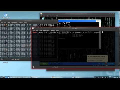 MITM Attack Tutorial
