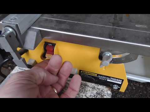 DIY Wet Saw for Cutting Glass and Ceramic Tile