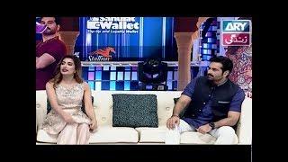 Interesting Interview of Humayun Saeed & Mehwish Hayat
