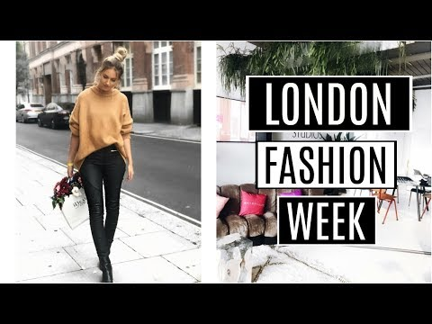 LONDON FASHION WEEK VLOG! | KATHERINE ROSE