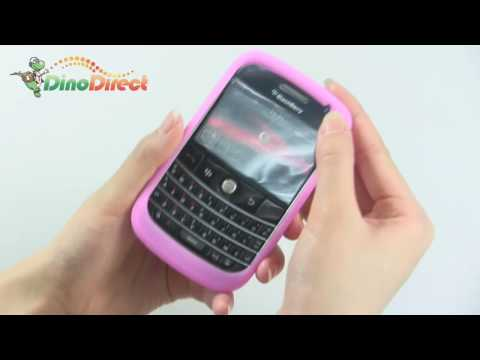 BlackBerry 9000 Colorful Silicone Skin Case Cover - dinodirect
