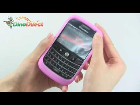 BlackBerry 9000 Colorful Silicone Skin Case Cover - dinodirect