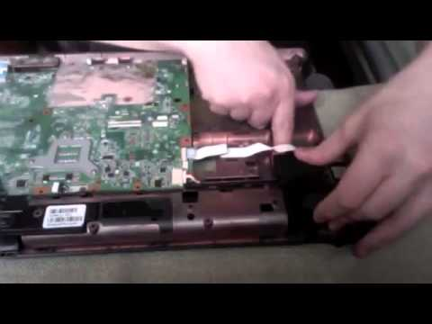 Laptop HP G61 how to replace power pin 2/3