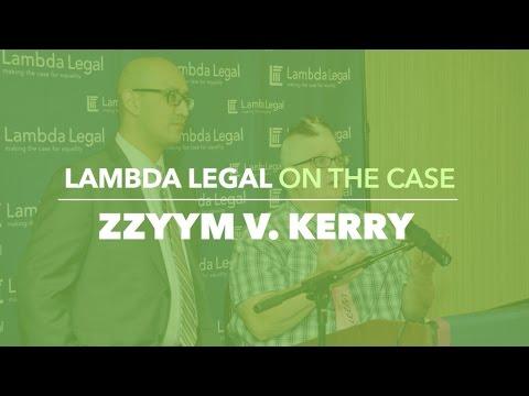 Lambda Legal on the Case: Zzyym v. Kerry