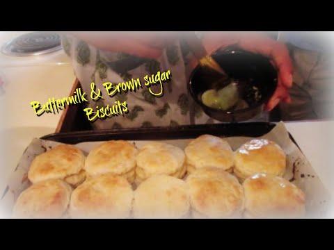 Brown sugar and buttermilk Biscuits