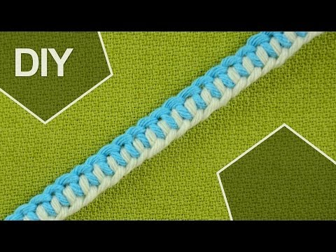 How to tie a Half Hitch knots - ZIPPER BRACELET