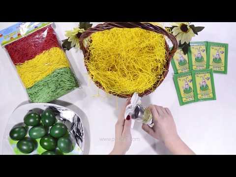 Dyeing eggs - Green dye for coloring 10 Easter eggs - Paleta 7