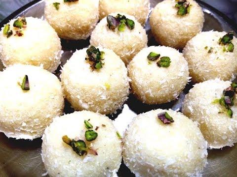 जब मीठा खाने का मन हो और समय हो कम तो सिर्फ़ 3 मिनट में बनायें यह बहुत स्वादिष्ट लडडू Nariyal Ladoo