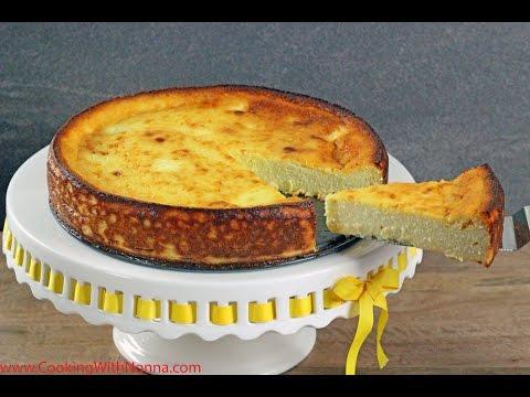 Nonna Romana's Ricotta Cheesecake - Rossella's Cooking with Nonna