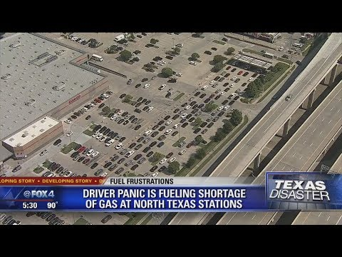 Driver panic fueling gas shortage