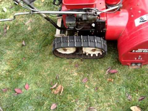 a verry nice honda snowblower. for repair?