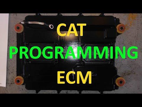 How To Program A Cat ECM. How To Flash A Cat ECM. Cat Computer Programming.
