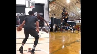 Jahlil Okafor and Zion Willamson putting in that extra work!
