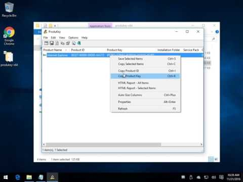 ProduKey Can Retrieve Your Microsoft Windows and Office Keys and Product ID