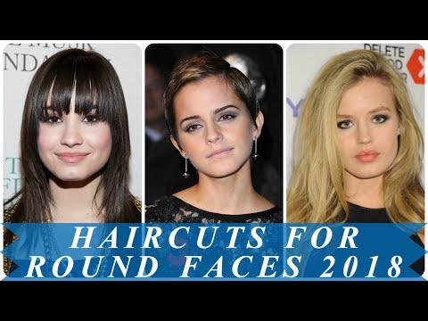 15 amazing short haircuts for women with round faces 2018