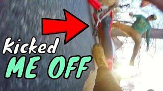 Dirt Bike Stolen While Riding
