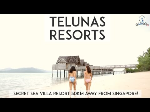 Telunas Resorts - Secret Sea Villa Resort 50km Away From Singapore!