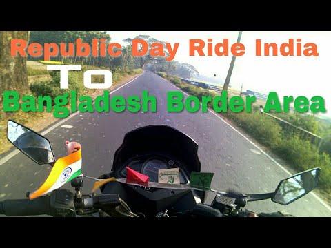 EXPLORE KOLKATA TO BANGLADESH BORDER AREA PETRAPOLE| RIDE TO REPUBLIC DAY RIDE|FIRST MOTO VLOG