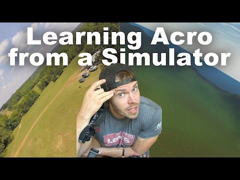 Can a Simulator Teach you to Fly a Race Quad