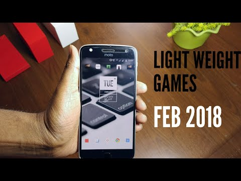 Best lightweight games feb 2018