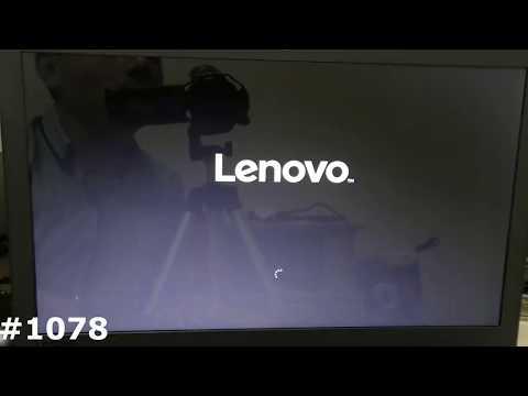 Самостоятельная переустановка или восстановление Windows на Lenovo IdeaPad 110