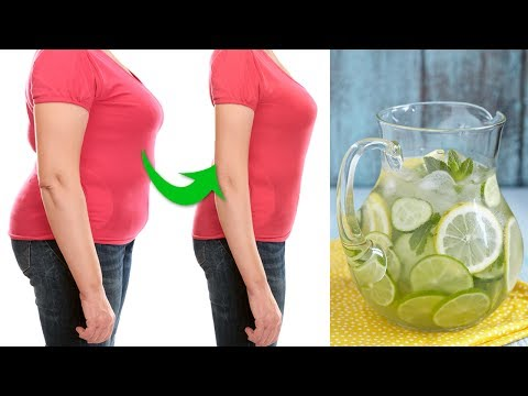 Natural Detox Water Recipe to Help You Lose Weight Faster