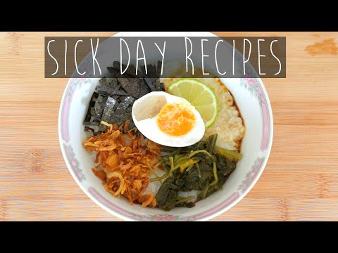 What I Eat When I'm Sick - Recipes | Oatmeals, Congee, Drinks | Eva Chung