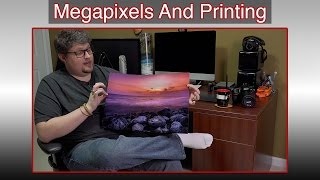 Megapixels And Printing Large Photos | 20x30 Prints With 12 Megapixels? | Real World Test
