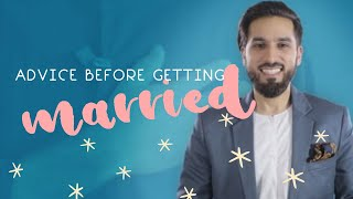 1st Advice before getting married in islam (3mins) A MUST C! Saad Tasleem