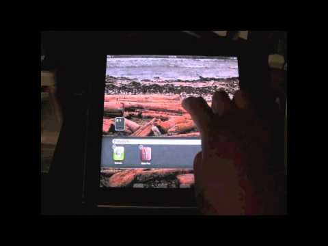 iPad: How to Move Your Apps & Create Folders​​​ | H2TechVideos​​​