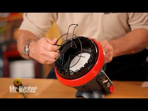 Mr. Heater F215100 MH4B Little Buddy Propane Heater - Cleaning and Maintenance