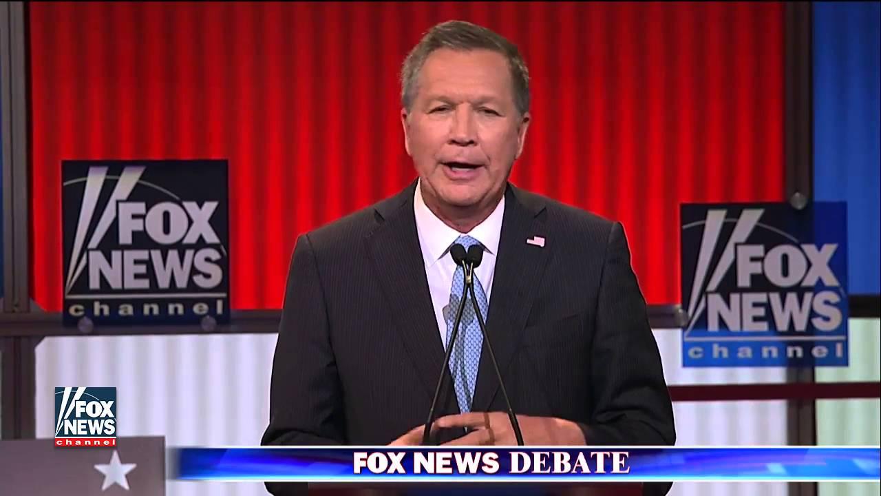 Part 2 of the Fox News GOP presidential debate in Detroit