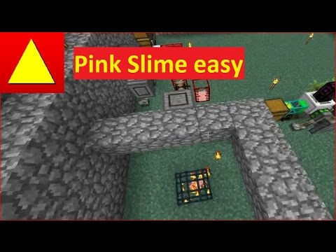 MFR MineFactory Reloaded Pink Slime Balls ohne Liquid Router farmen BuilderServer LP Tutorial