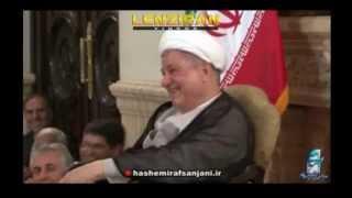 Hashemi Rafsanjani enjoy jock of TV presenter about Azari Turks  !