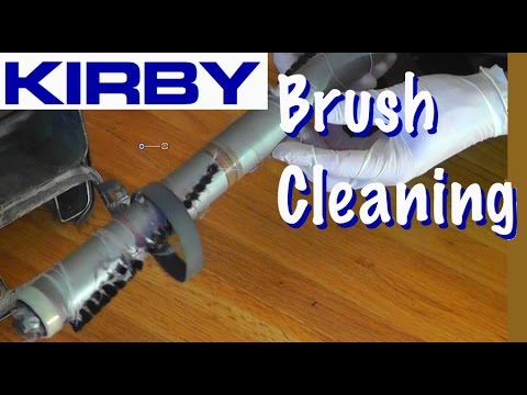 Kirby Vacuum Brush Cleaning & Replacement