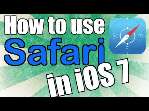 How to use Safari iOS 7 on the iPad