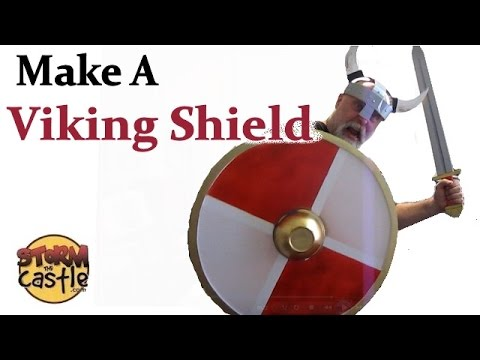 How to Make a Viking Shield - Out of cardboard or foam board