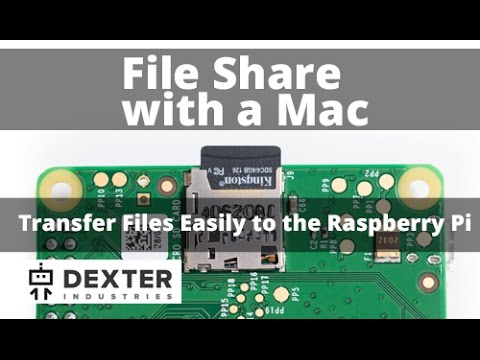 Transfer Files Between a Mac and the Raspberry Pi: FTP (File Transfer Protocol)