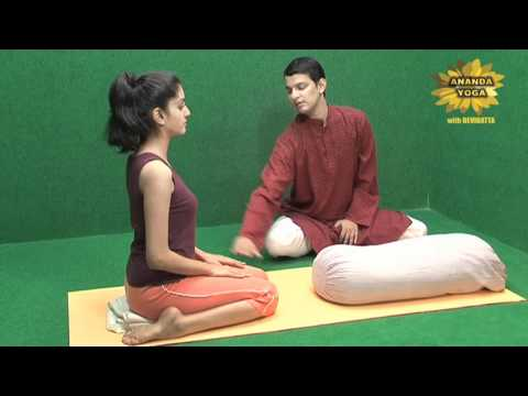 Yoga to Calm your Brain and Heart with Props
