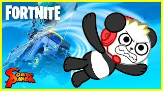 Combo Panda's First Time Playing Fortnite Team Rumble!