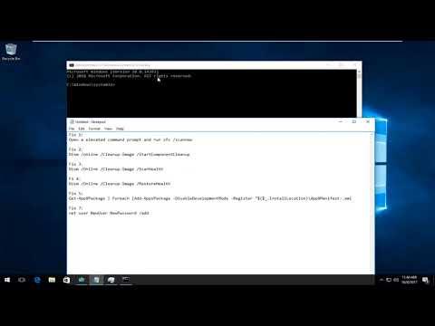Fix Start Menu And Cortana Not Working In Windows 10