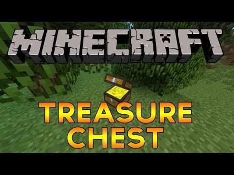 Minecraft Mod! - Treasure Chest (Rewards, Diamonds, Iron, Cake & more!)