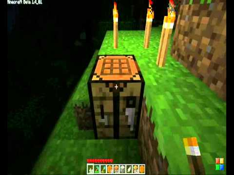 Minecraft how to make a: Jack-O'-Lantern